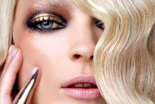 вечерний макияж для карих глаз для разного цвета волос, фото и видео